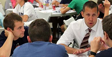 personalized facilitator attention during leadership workshops